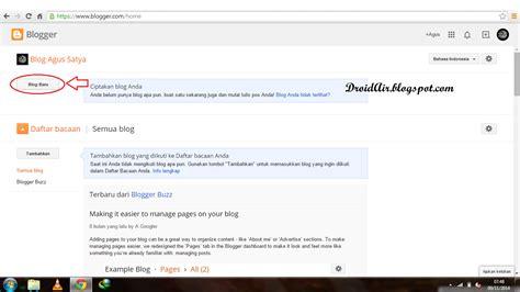 membuat blog mudah cara mudah membuat blog