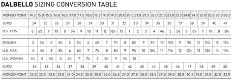 mens ski boots size chart dalbello 2016 s panterra 100 ski boots skis
