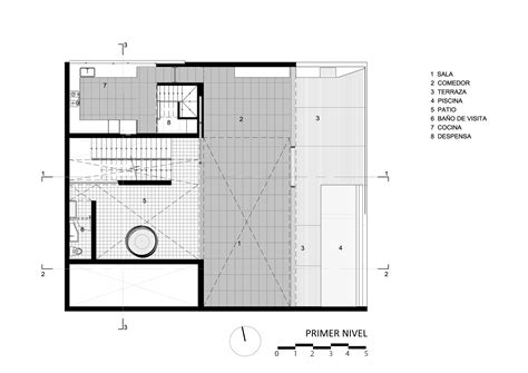 casa fortuna floor plan casa la caleta llosa cortegana arquitectos archdaily