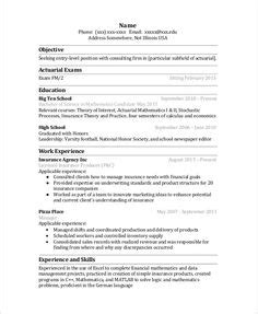 actuarial resume exle application letter exle imbk8unk hrm