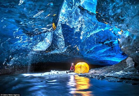 crystal ice cave iceland iceland staggering blue crystal ice cave charismatic planet