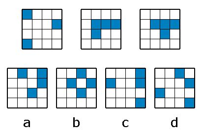 quick pattern test pattern questions from iq test that i couldn t find