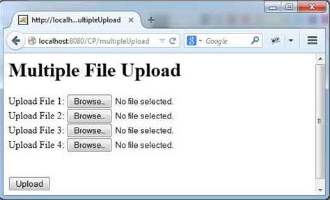 spring  mvc single  multiple file upload
