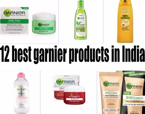 12 Best Products by 12 Best Garnier Products Available In India For Skin Hair