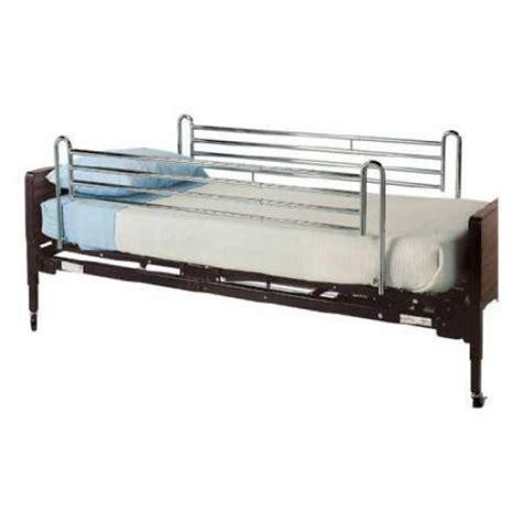 medical bed rails lumex telescoping full bed side rail gf6570a 1