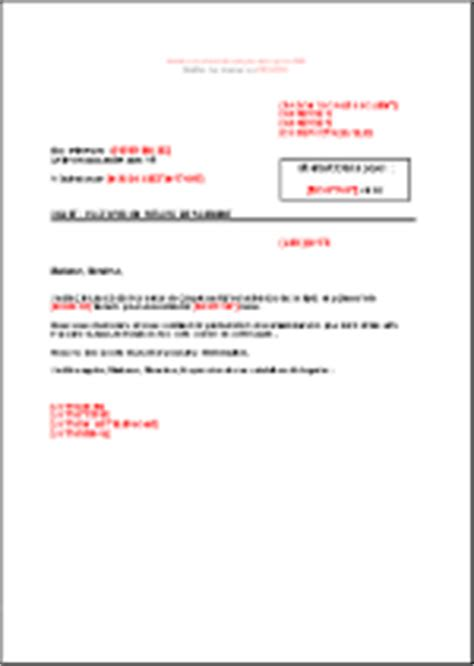 Exemple De Lettre Commerciale Pour Un Client Lettre Type Commerciale