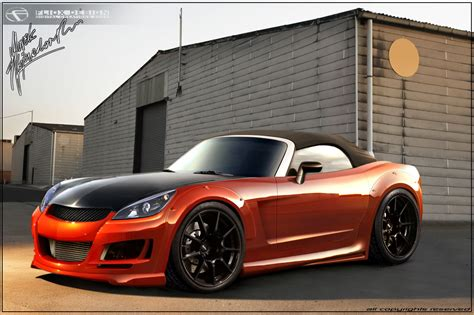 saturn sky orange changing color with vinyl wrap