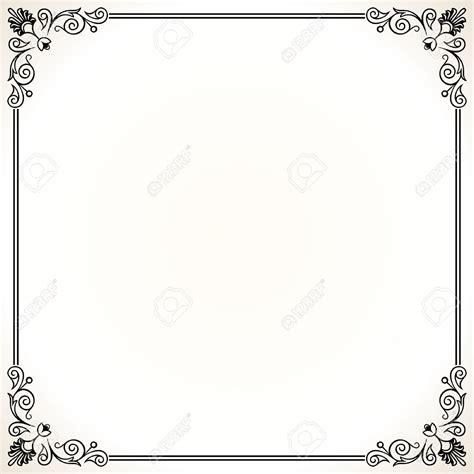 frame design for microsoft word home office ornate border stock illustrations cliparts