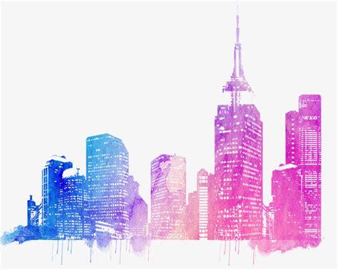 city skyline png vector psd  clipart