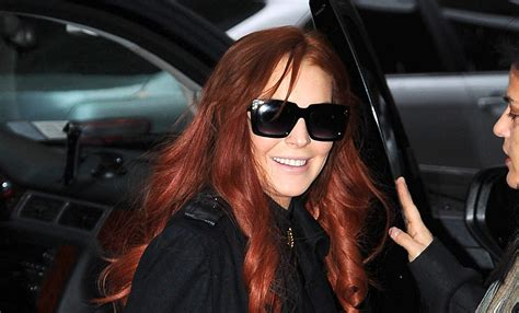Lindsay Was Out Of by Lindsay Lohan Kicked Assistant Out Of Car Today