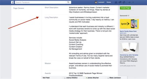 bio exles for fb leonard kim 10 steps to get verified on facebook and why