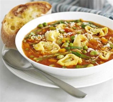 hearty pasta soup recipe bbc good food