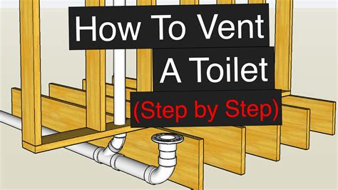 How To Vent & Plumb A Toilet (Step by Step)   YouTube