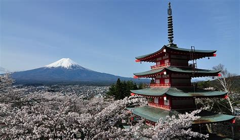 fuji five lakes travel chureito pagoda