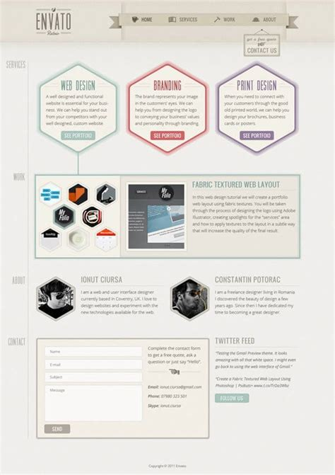 web layout for photoshop designing a website 30 great web design tutorials