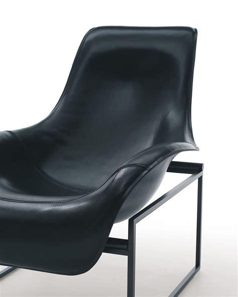B B Italia Armchair by Mart Leather Armchair By B B Italia Design Antonio Citterio
