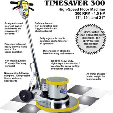 Floor Buffer Parts by Mercury Timesaver 19in 1 5hp 300rpm Floor Machine