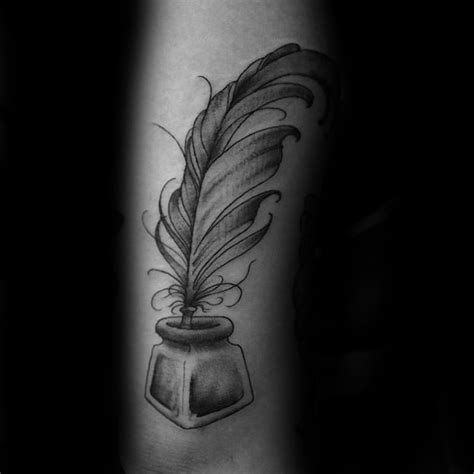 feather pen tattoo designs 78 stunning quill tattoo ideas and meanings about feather