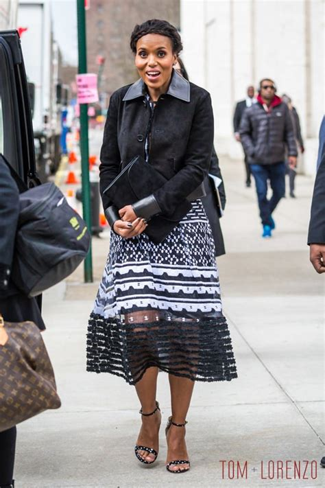 Style Kerry Washington by Style Kerry Washington In Carolina Herrera