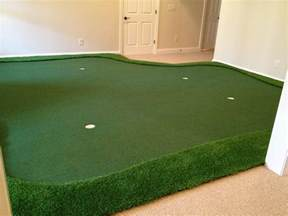 How To Build A Putting Green In Your Backyard Custom Indoor Putting Greens