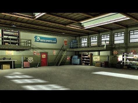 3d garage asset garage 3d model