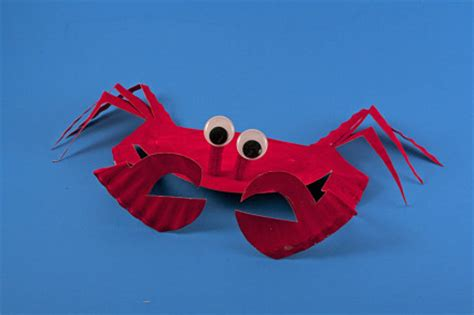 Paper Plate Crab Craft - kid craft 183 kix cereal 183 page 4
