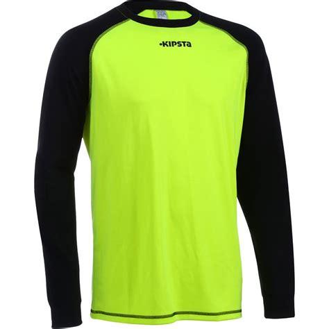 completo portiere bambino maglia portiere f300 gialla kipsta calcio sport di