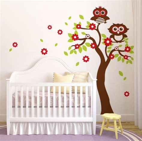 wall stickers fiori adesivo murale wall sticker per bambini quot albero fiori e