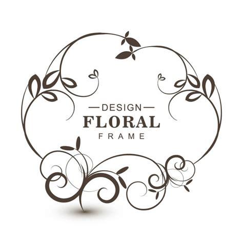 marcos vintage en blanco y negro descargar vectores gratis sencilo marco floral blanco y negro descargar vectores