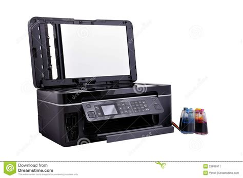open scanner open copier scanner stock image image 25889511