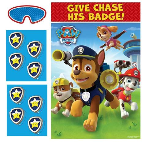 paw patrol party game this party started