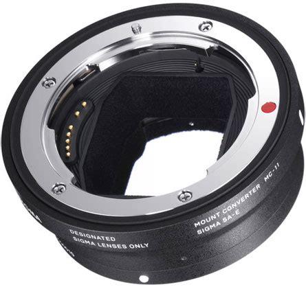 sigma mc 11 lens adapter ef sony e sony crop sensor e mount christchurch nz