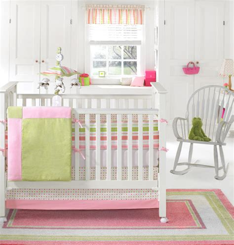 pink and green crib bedding a peek into mariah carey s pink green nursery design