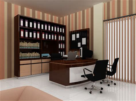 layout ruang pimpinan sand architexture portfolio director room office