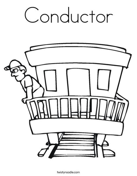 coloring pages train conductor conductor coloring page twisty noodle