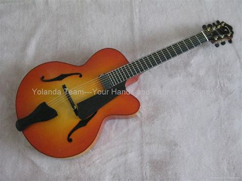 Handmade Guitar Strings - 14inch 7 strings handmade jazz guitar china