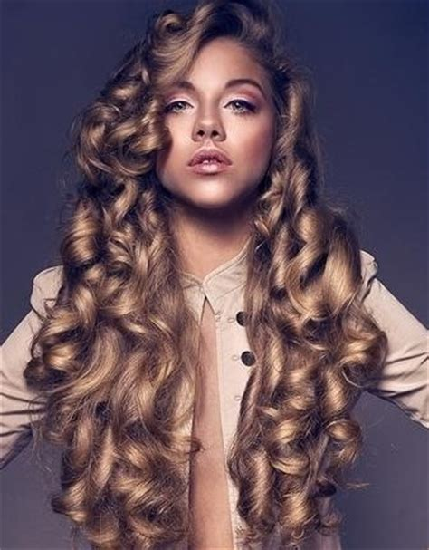 Big Curl Hairstyles by Big Curl Hairstyles For Hair Hairstyle For