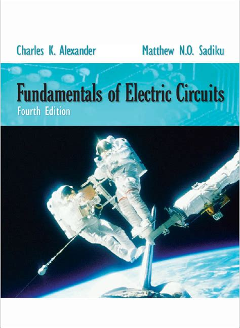 engineering books fundamentals  electric circuit fourth edition  charles kalexander
