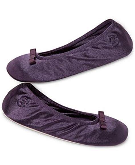 isotoner satin ballerina slippers isotoner signature satin ballerina slippers handbags
