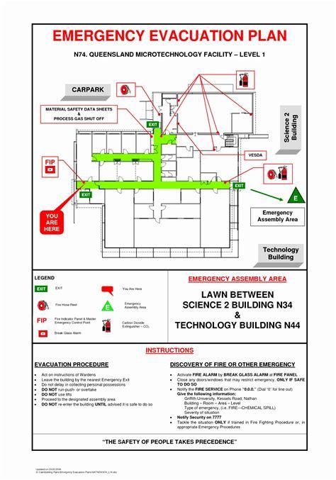8 Emergency Exit Floor Plan Template Toowt Templatesz234 Emergency Exit Plan Template