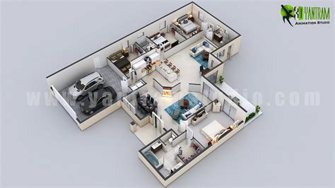 modern home design plans 3d 3d floor plan design interactive 3d floor plan yantram