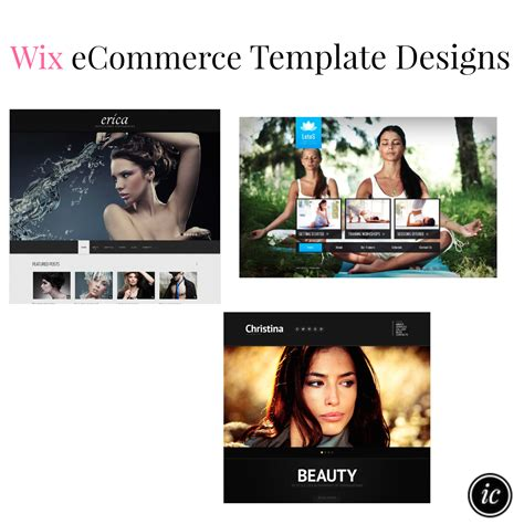 wix ecommerce templates ecommerce website template designs imperfect concepts