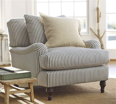 stripe armchair 25 best ideas about ticking stripe on pinterest striped bedding farmhouse bedrooms