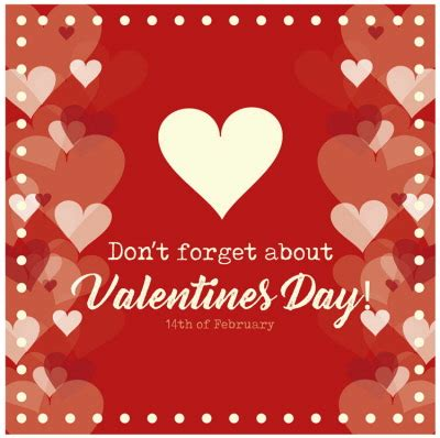 dont forget valentines day floor stickers floor graphics wall floor signage