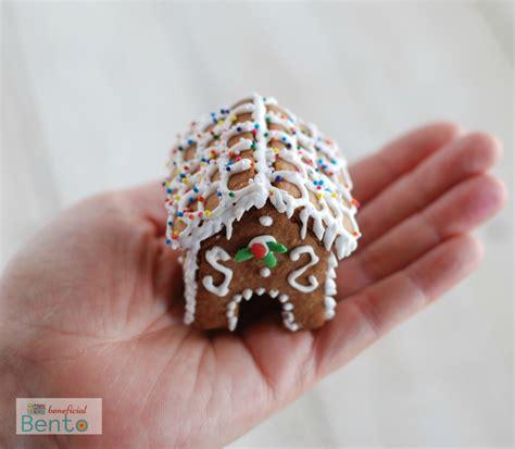 mini gingerbread house 3d mini gingerbread houses gluten free beneficial bento