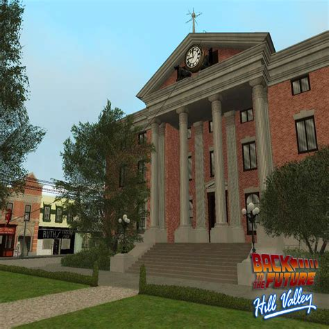 And The City Back On by Back To The Future Hill Valley Mod For Grand Theft Auto