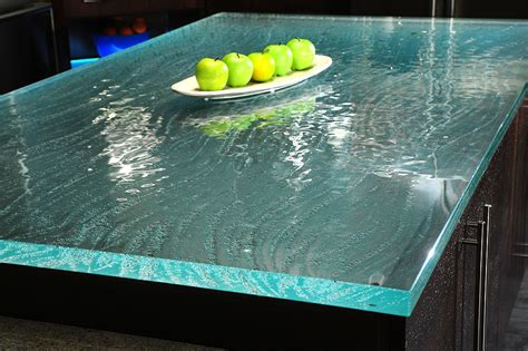 Custom Glass Countertops by 30 Lush Glass Countertops For Your Kitchen With Pics To