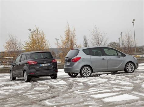 opel ford comparatif ford b max et opel meriva challenges fr