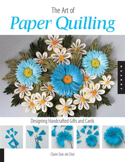 Paper Craft Books Free - of paper quilling quilled piecing craft idea book 3d