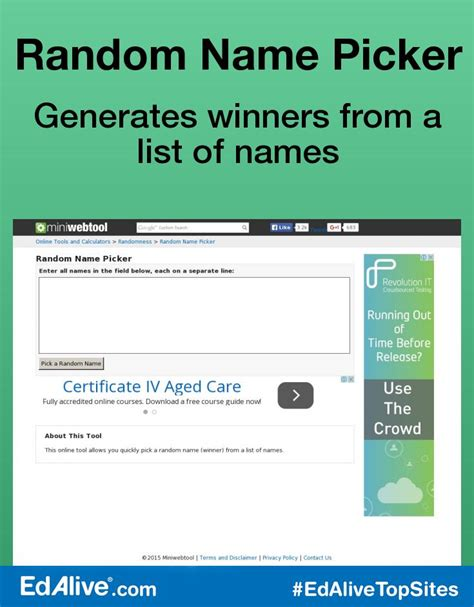 Or Name Picker Random Name Picker Edalive Enews
